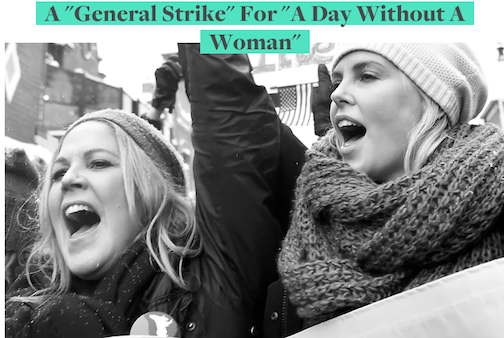 a general strike for a day without a woman